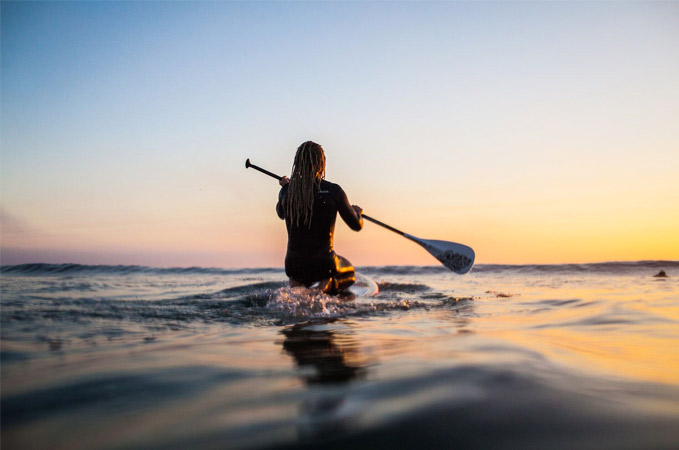 Stand up Paddeling oder auch SUP in Petten bei AllYouCanSurf