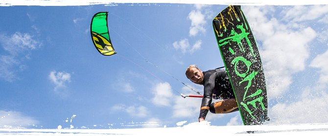 Kite surfen in Portugal