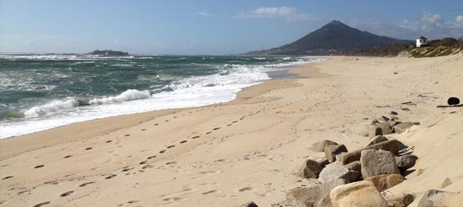 Portugal Moledo Rio Minho Strand
