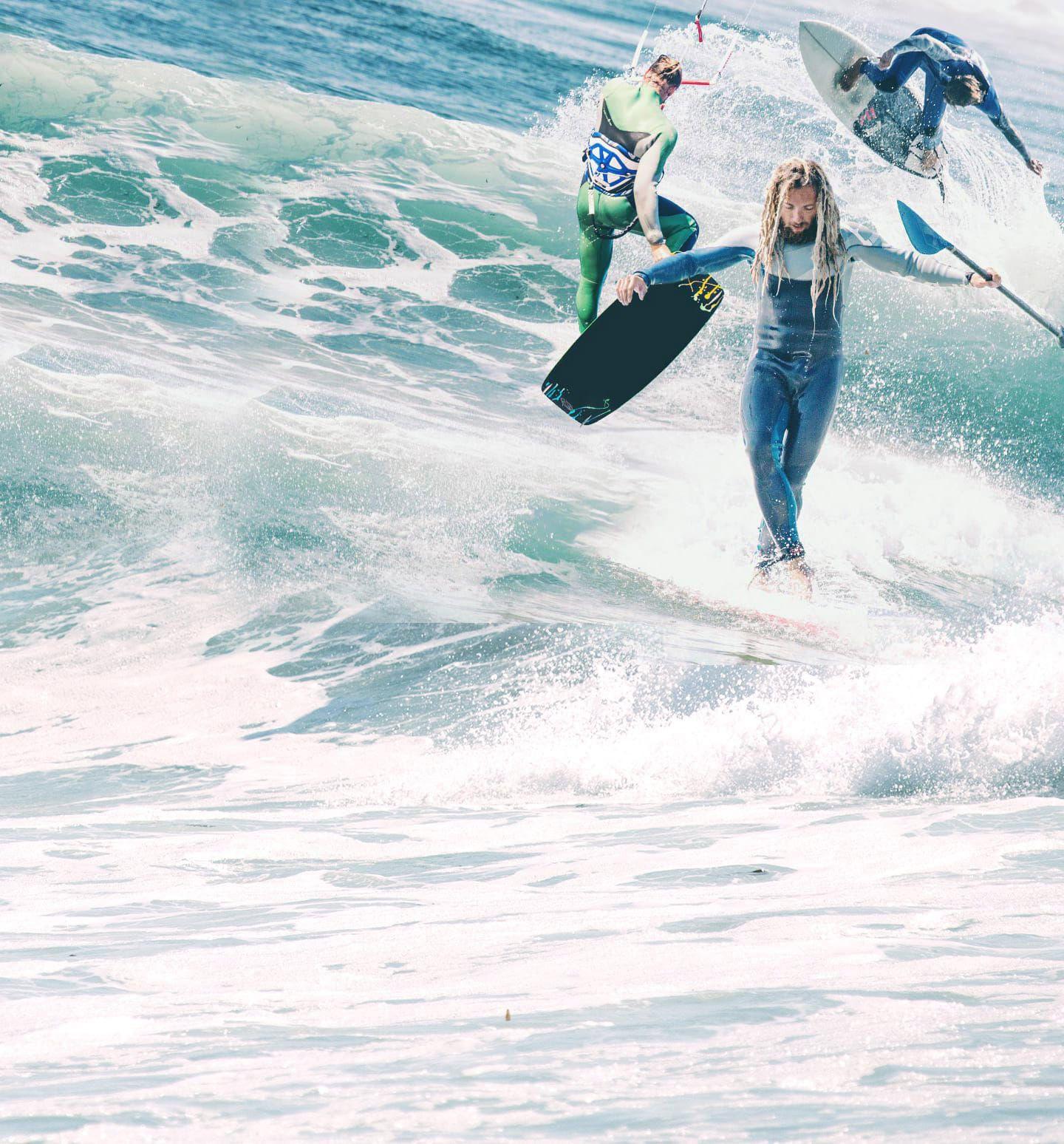 Surfen Kiten SUP Moledo Portugal Wellen AllYouCanSurf